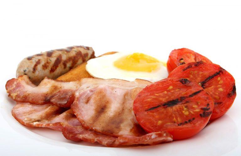 Fleisch und Eier